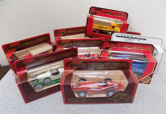 Large Matchbox collectables