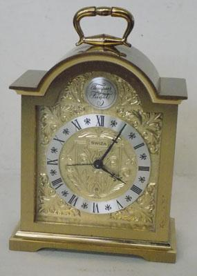 Vintage brass SWIZA carriage clock w/o