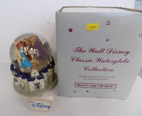 Disney classic waterglobe - Beauty and the beast