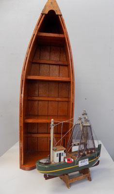 Boat shelf & model