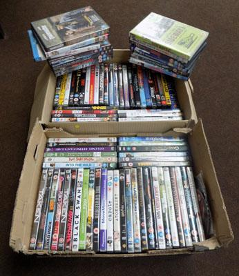 2x Boxes of mixed DVD's