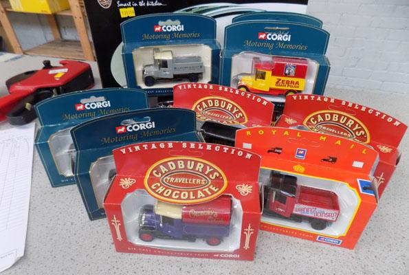 Box of mixed cars inc Corgi