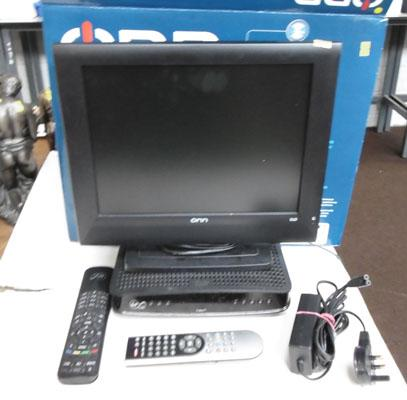 "15"" Digital LCD TV with Virgin box-remote & instructions (in office)"