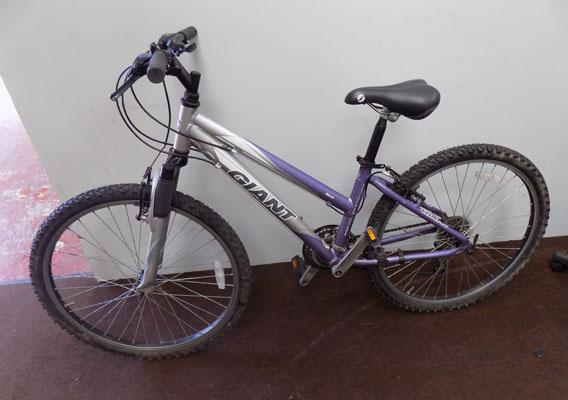 Ladies Giant mountain bike