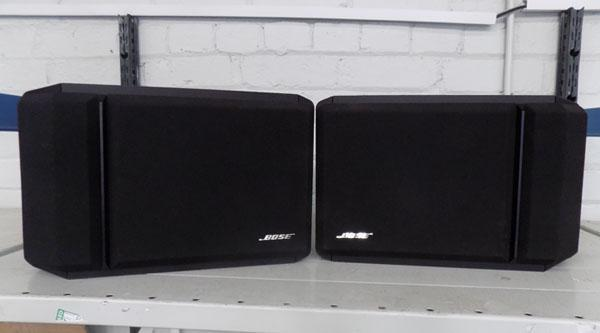 Bose speakers 201 series w/o