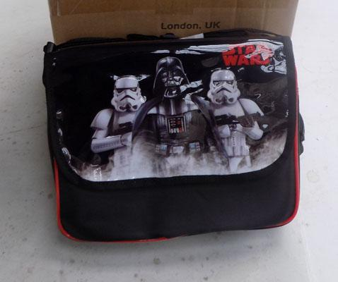 2x Boxes Star wars lunch bags