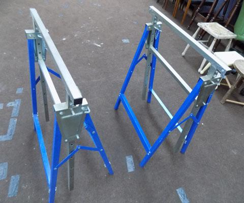 Pair of tressels