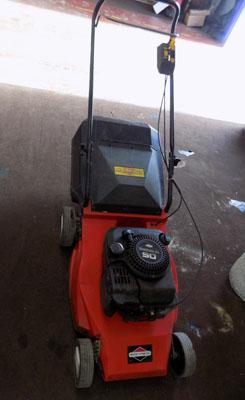 Briggs & Stratton mower-running but requires attention