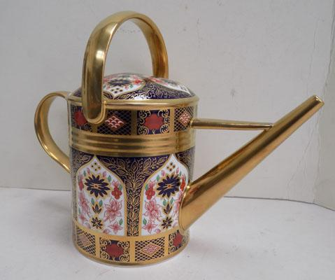Royal Crown Derby Old Imari watering can 1128