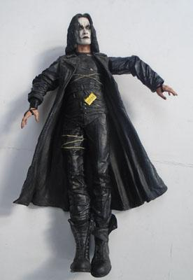 The Crow figure-motion activated