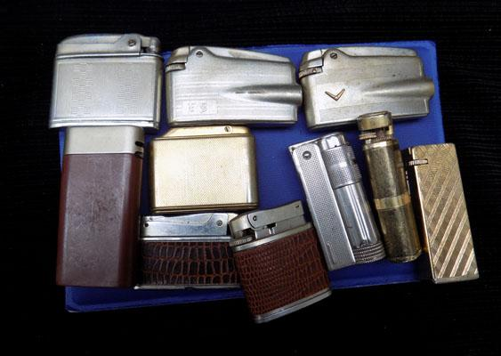 Selection of Ronson & other vintage lighters