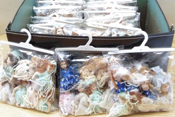 20 Packs of small pot dolls