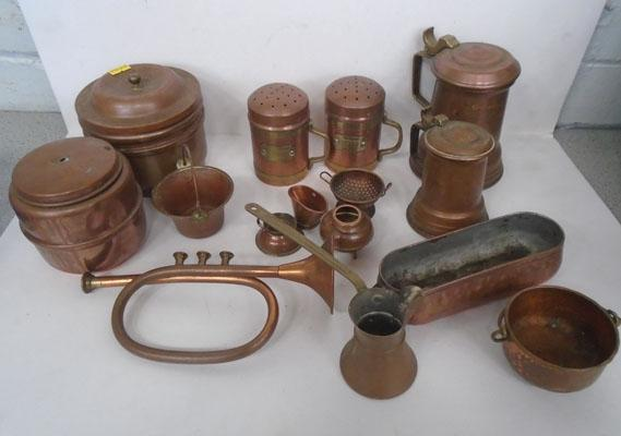 Box of quality copper items