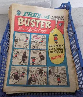 Collection of early buster comics