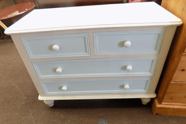 Blue set of drawers