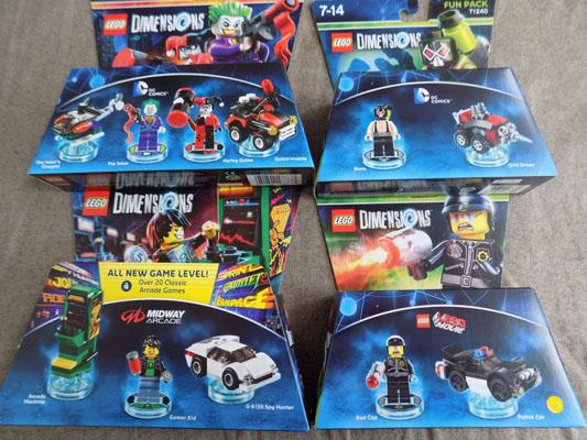 Lego dimension  video games (new/sealed)