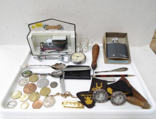 Tray of collectables