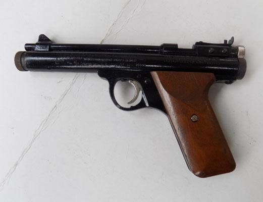 CO2 powered air pistol