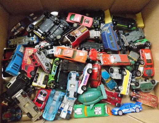 Box of die cast mainly 1970's
