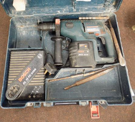 Bosch 24 volt H/D SDS drill in box w/o