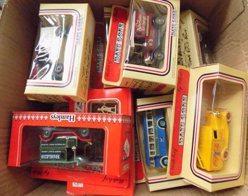 Box of boxed die cast