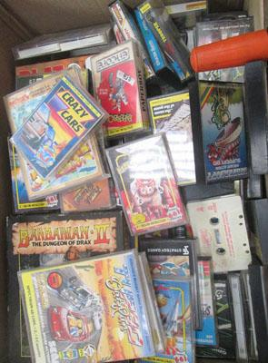 Box of 100+ Sinclair and Spectrum games