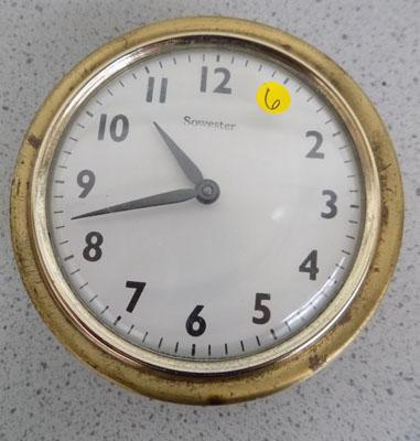 Sowester shipping wind up clock w/o