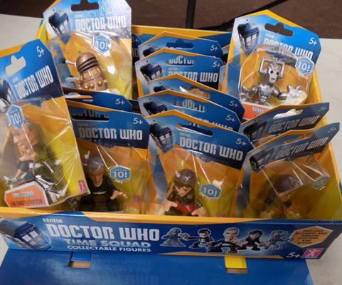 Box of Dr Who figures