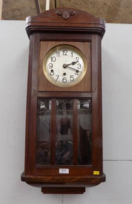 Vintage Westminster cased wall clock