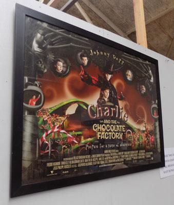 Original movie poster Charlie & the Chocolate factory