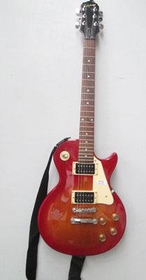 Epiphone electric guitar with bag & strap