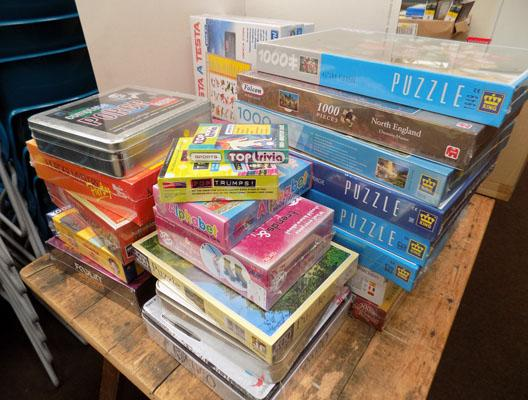 Large selection of brand new games & jigsaws