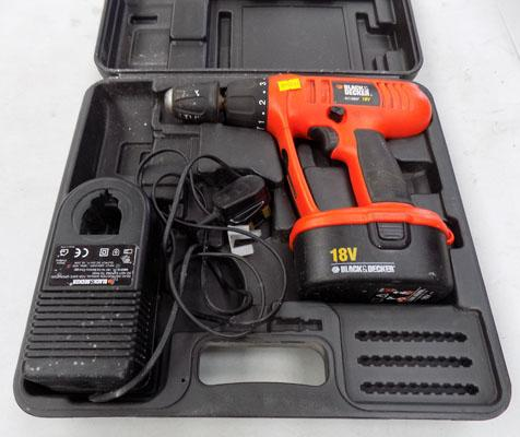 Black & Decker drill & charger