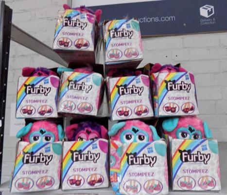 10 Pairs of Furby slippers