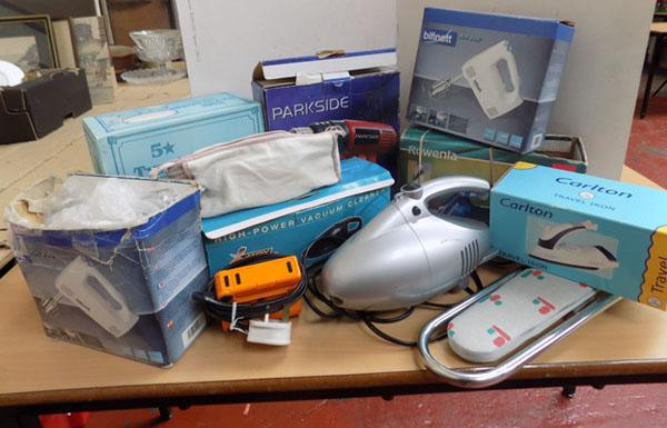 Box of electricals