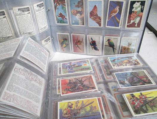 2x Albums of cigarette cards & others