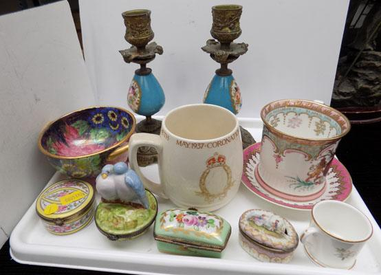 Collection of Porcelain inc Maling, Royal Worcester etc