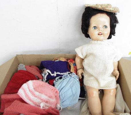 Pedigree 1950's doll & clothes