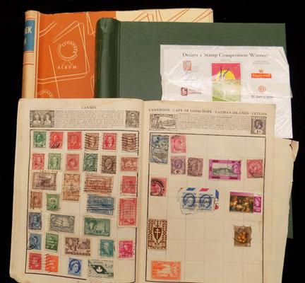 3x Albums of stamps