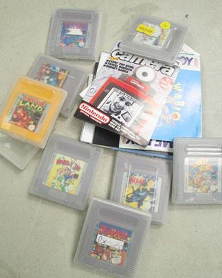 Selection of Game Boy games