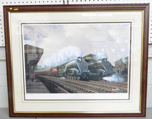 A4's at York-Barry Price signed Ltd Ed print