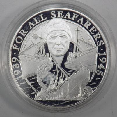 1945 For All Seasons silver £20 coin