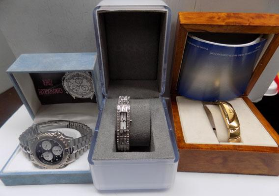 3x Watches-Accurist, DKNY & Seiko
