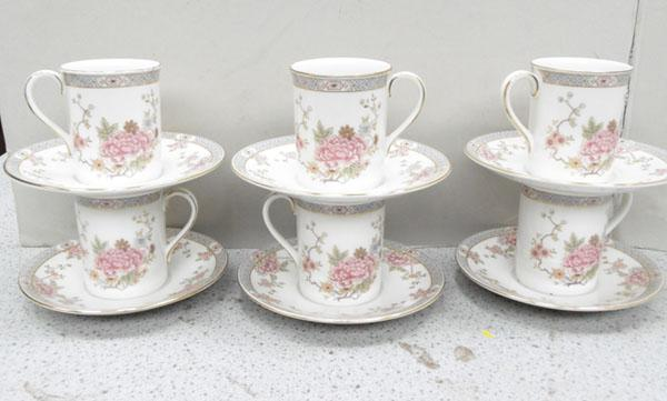 Royal Doulton coffee cups & saucers