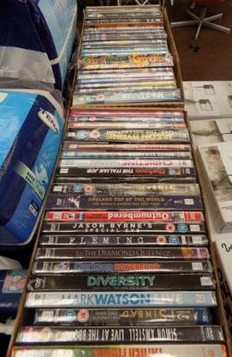 4x Boxes of DVD's