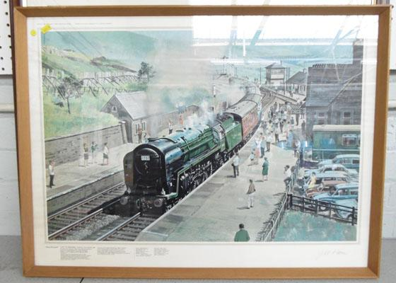 'Final Farewell' Oliver Cromwell at Dent-JW Petrie signed print