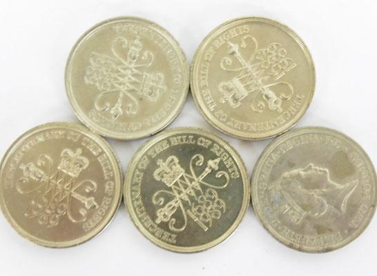 Selection of £2 coins-The Bill of Rights