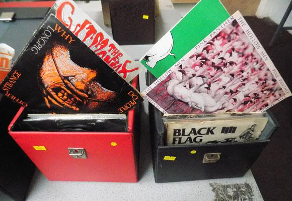 2x Boxes of Punk, new Wave & Indie singles