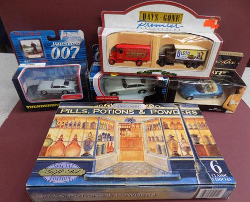 Collection of die cast inc '007'