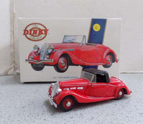 Dinky Special Edition 1939 Triumph Dolomite